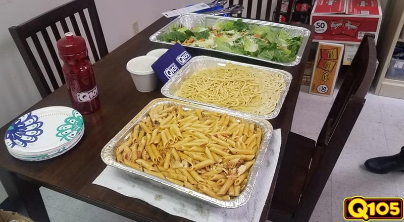 Congratulations to our Q105 Undercover Office recipients atFundraising for a Cause catered by Shells Seafood!