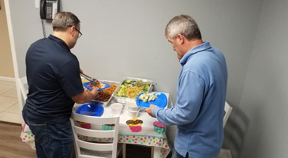 Congratulations to our Q105 Undercover Office recipients atGardner Watson Decking catered by Shells Seafood!