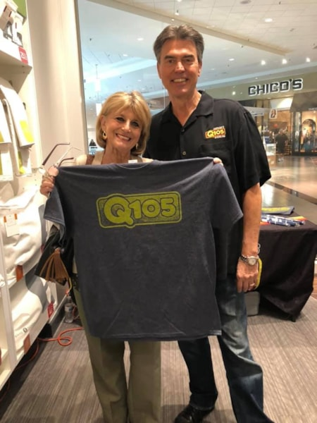 Rich Fields and the Q105 crew partied at the the Clearwater Sleep Number on Friday, February 1st.