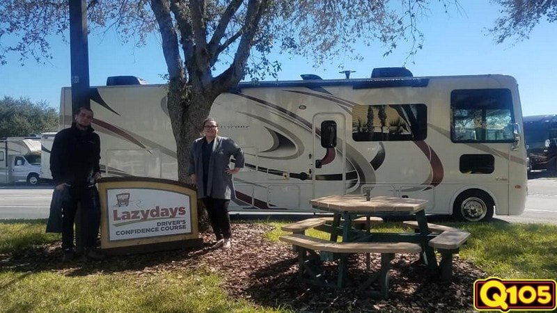 CONGRATULATIONS to our Undercover Office winner this week- Lazy Daze RV!!! We stopped by to feed the team on January 29th with Shell's Seafood.