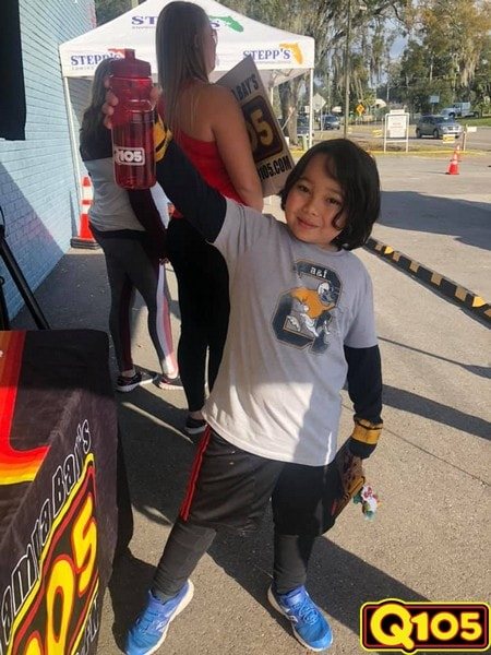 Q105 made an appearance at Stepp's Towing on Thursday, January 31st!
