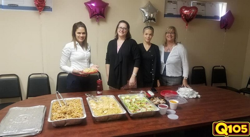 CONGRATULATIONS to our Undercover Office winner this week- Norman Parathyroid Center!!! We stopped by to feed the team on February 7th with Shell's Seafood.