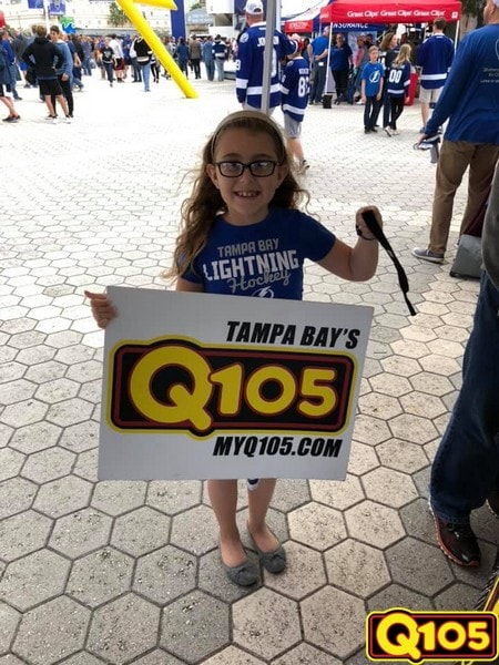 We had so much fun at theTampa Bay Lightning vs. Pittsburgh Penguins game. Thank you to all who showed up to support our team. Go Bolts!