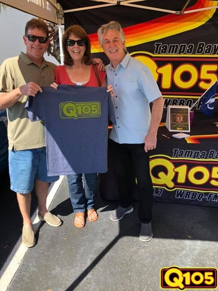 Q105 Street Team & Mason Dixon had a great time with all who came out to Ackerman Jewelers on Saturday, February 9th.
