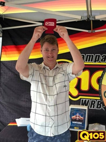 Q105 had a blast at Ruth Eckerd Hall for the Steve Miller Band! Thank you to everyone who stopped by to spin our prize wheel!