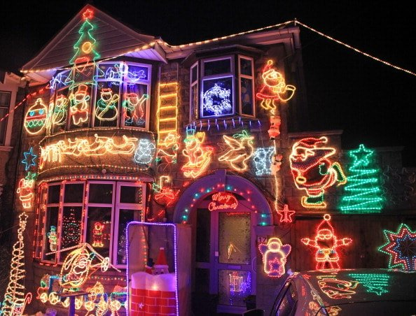 Christmas Light Displays Around Tampa Bay