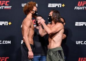 UFC Fight Night Whittaker v Gastelum: Weigh-Ins