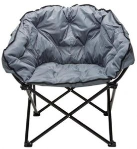 gray camping chair